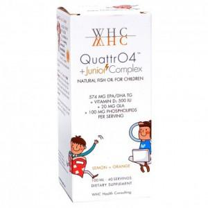 QuattrO 4 Junior Complex Omega 3 für Kinder